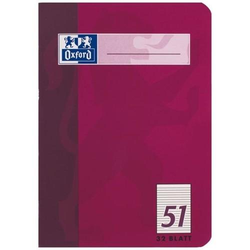 Oktavheft Oxford A6 liniert farbig sortiert 32Blatt 90g Optik Paper weiß 100050396 Produktbild Additional View 3 L