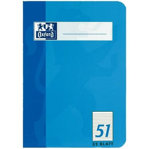 Oktavheft Oxford A6 liniert farbig sortiert 32Blatt 90g Optik Paper weiß 100050396 Produktbild Additional View 4 L