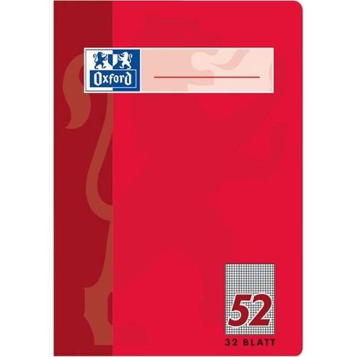 Oktavheft Oxford A6 kariert farbig sortiert 32Blatt 90g Optik Paper weiß 100050397 Produktbild Additional View 2 L