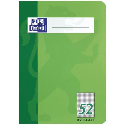 Oktavheft Oxford A6 kariert farbig sortiert 32Blatt 90g Optik Paper weiß 100050397 Produktbild Additional View 3 L