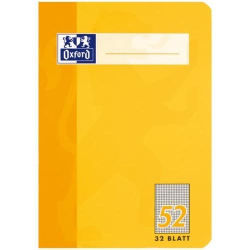 Oktavheft Oxford A6 kariert farbig sortiert 32Blatt 90g Optik Paper weiß 100050397 Produktbild Additional View 4 L