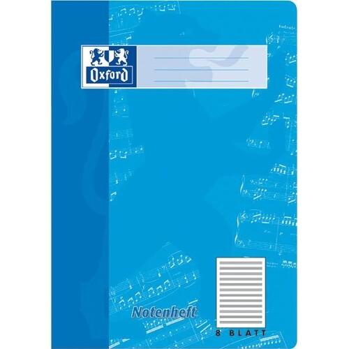 Notenheft Oxford A4 ohne Hilfslinien 8Blatt 90g Optik Paper weiß 100050363 Produktbild Additional View 2 L