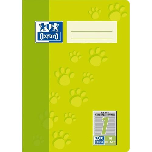 Heft Oxford Junior A5 Lineatur 1 1.Schuljahr 16Blatt 90g Optik Paper 100050406 Produktbild