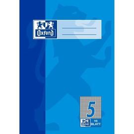 Heft Oxford A5 Lineatur 5 kariert 16Blatt 90g Optik Paper 100050368 Produktbild