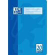 Heft Oxford A4 Lineatur 20 blanko mit Linienblatt 16Blatt 90g Optik Paper weiß 100050306 Produktbild