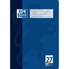 Heft Oxford A4 Lineatur 27 liniert Rand links+rechts 16Blatt 90g Optik Paper weiß 100050313 Produktbild