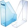 Stehsammler Economy 85x240x322mm glasklar Kunststoff Helit H2361402 Produktbild Additional View 1 S