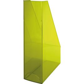 Stehsammler Economy 85x240x322mm gelb transparent Kunststoff Helit H2361411 Produktbild