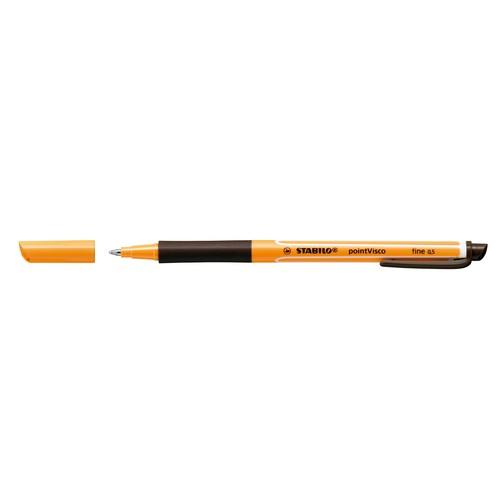 Tintenroller Pointvisco 1099 0,5mm schwarz Stabilo 1099/46 Produktbild