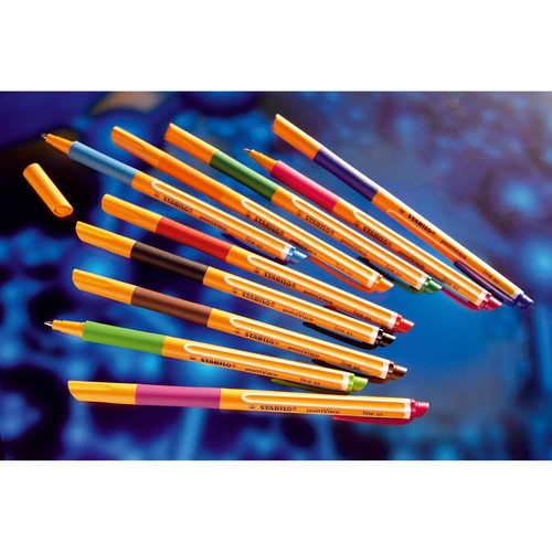 Tintenroller Pointvisco 1099 0,5mm rot Stabilo 1099/40 Produktbild Additional View 2 L