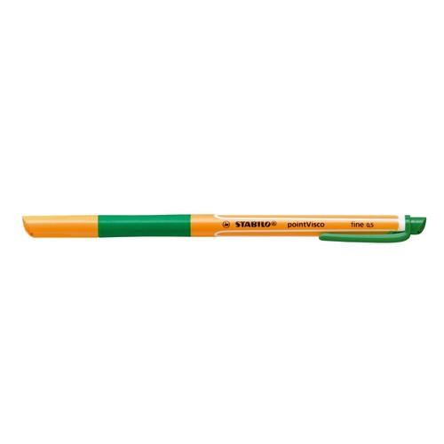 Tintenroller Pointvisco 1099 0,5mm grün Stabilo 1099/36 Produktbild Additional View 1 L