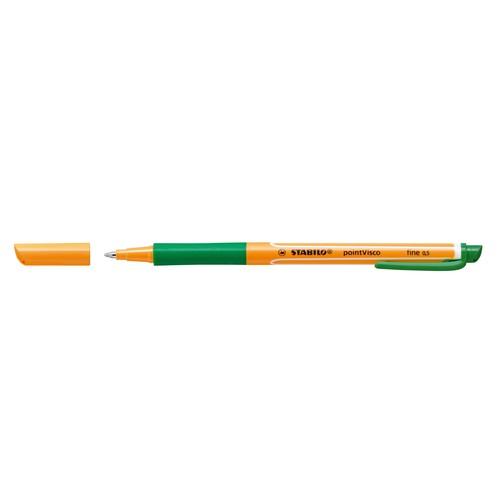 Tintenroller Pointvisco 1099 0,5mm grün Stabilo 1099/36 Produktbild