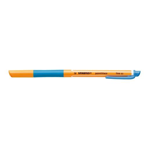 Tintenroller Pointvisco 1099 0,5mm türkisblau Stabilo 1099/51 Produktbild Additional View 1 L