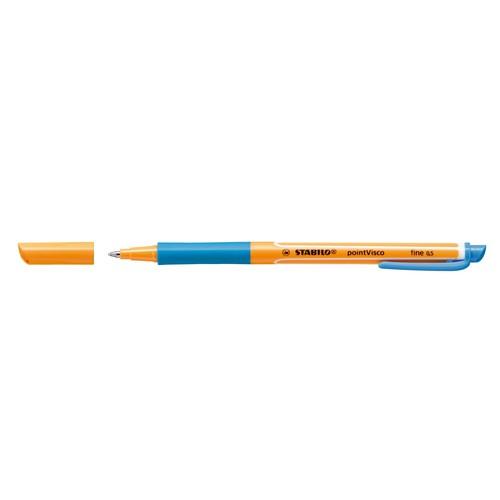 Tintenroller Pointvisco 1099 0,5mm türkisblau Stabilo 1099/51 Produktbild