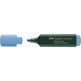 Textmarker 1548 Keilspitze blau Faber Castell 154851 Produktbild