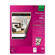 Fotopapier Laser+Kopier A4 135g hochweiß beidseitig glossy Sigel LP141 (PACK=100 BLATT) Produktbild Additional View 1 S