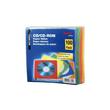 CD/DVD Leerhülle farbig sortiert Papier Hama 00078369 (PACK=100 STÜCK) Produktbild