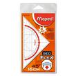 Geodreieck Flex 16cm transparent biegsam Maped M028600 Produktbild