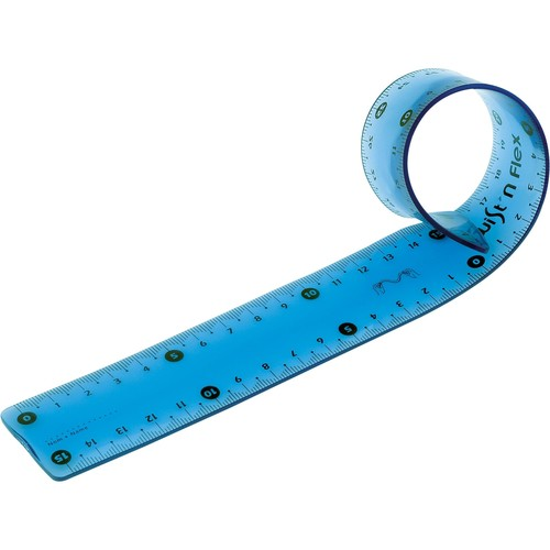Lineal Twist'n Flex 15cm verschiedene Farben Kunststoff biegsam Maped M279110 Produktbild