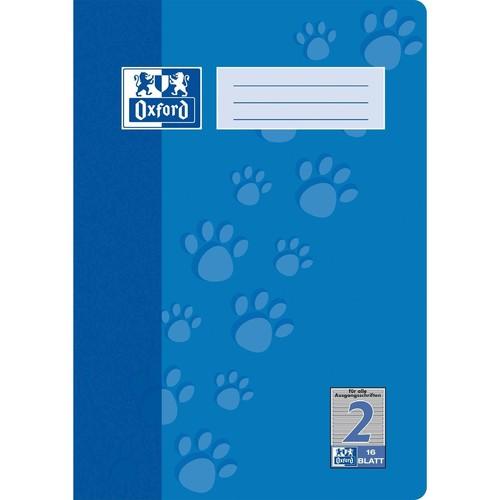 Heft Oxford Junior A4 Lineatur 2 16Blatt 90g Optik Paper 100050401 Produktbild