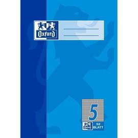 Heft Oxford A5 Lineatur 5 kariert 32Blatt 90g Optik Paper weiß 100050379 Produktbild