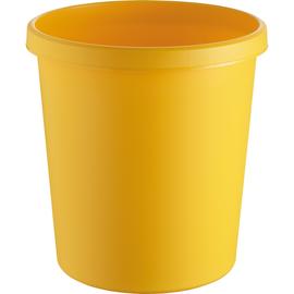 Papierkorb Standard 18l gelb Helit H6105818 Produktbild