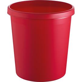 Papierkorb Standard 18l rot Helit H6105825 Produktbild