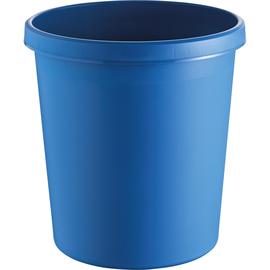 Papierkorb Standard 18l blau Helit H6105834 Produktbild