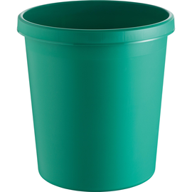 Papierkorb Standard 18l grün Helit H6105852 Produktbild