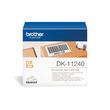 Einzeletikettenrollen Versand-Etiketten 102x51mm Thermopapier Brother DK-11240 (PACK=600 STÜCK) Produktbild