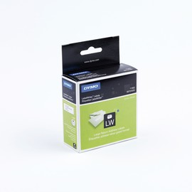 LabelWriter-Rücksendeadress-Etiketten 25x54mm weiß Dymo S0722520 (PACK=500 STÜCK) Produktbild