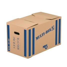Umzugskarton Multibox X 645x345x370mm braun/blau Karton Nips 118183122 Produktbild