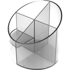 Multiköcher Economy Transparent Durchmesser 110mm/H 110mm glasklar Kunststoff Helit H6390202 Produktbild