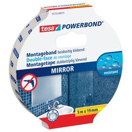 Powerbond SPIEGEL 19mmx5m farblos beidseitig klebend Tesa 55733-00010-04 (RLL=5 METER) Produktbild