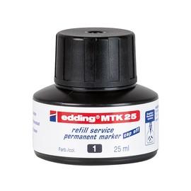 Permanentmarker-Nachfülltusche MTK25 25ml schwarz Edding 4-MTK25001 (ST=25 MILLILITER) Produktbild