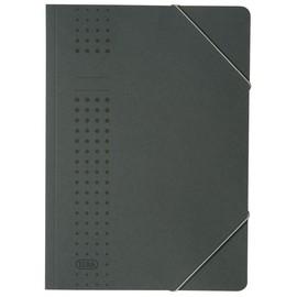 Eckspanner chic A4 für 150Blatt anthrazit Karton Elba 400010101 Produktbild