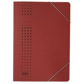 Eckspanner chic A4 für 150Blatt bordeaux Karton Elba 400010103 Produktbild