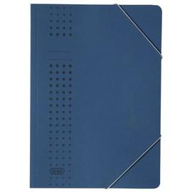 Eckspanner chic A4 für 150Blatt dunkelblau Karton Elba 400010108 Produktbild