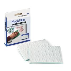 Mikrofaser-Reinigungstuch MagicWipe weiß Legamaster 7-121500 (PACK = 2X MAGICWIPE + 1 TROCKENTUCH) Produktbild