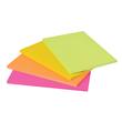 Haftnotizen Post-it Meeting-Notes 200x149mm neonfarben 3M 6845-SSP (PACK=4x 45 BLATT) Produktbild