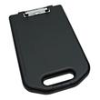 Klemmbrett mit Aufbewahrungsfach A4 Füllhöhe 23mm schwarz Kunststoff Wedo 576001 Produktbild