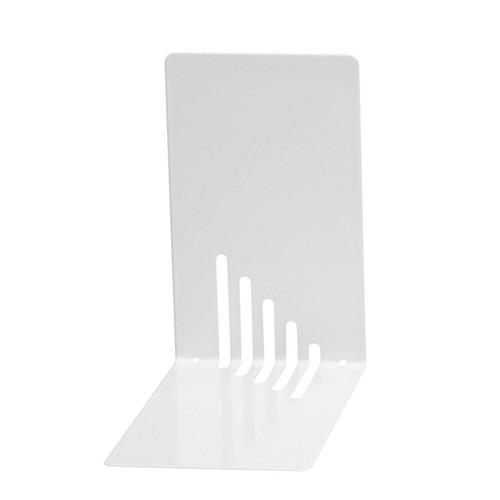 Buchstütze 140x85x140mm weiß Metall Wedo 1021000 (PACK=2 STÜCK) Produktbild Additional View 1 L