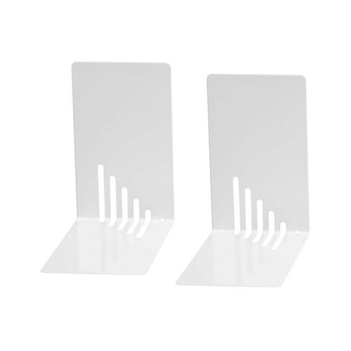 Buchstütze 140x85x140mm weiß Metall Wedo 1021000 (PACK=2 STÜCK) Produktbild
