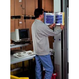 Sichttafelwandhalter FUNCTION WALL 20 5676 + 20 Sichttafeln 5607 Durable 5692-00 Produktbild