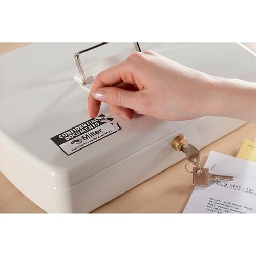 Etiketten Laser 45,7x25,4mm auf A4 Bögen weiß abziehsicher Zweckform L6145-20 (PACK=800 STÜCK) Produktbild Additional View 2 L