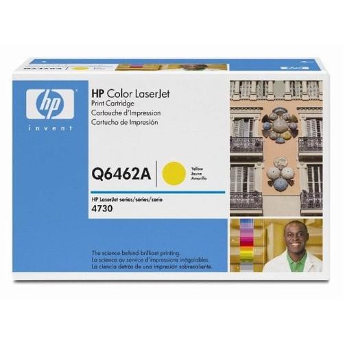 Toner 644A für Color LaserJet CM4730 12000Seiten yellow HP Q6462A Produktbild Front View L