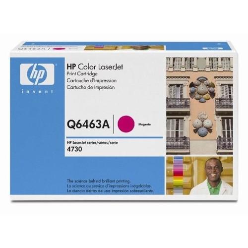 Toner 644A für Color LaserJet CM4730 12000Seiten magenta HP Q6463A Produktbild Front View L