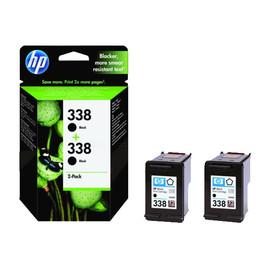 Tintenpatronen Doppelpack 338 für HP DeskJet 460C/5740/6620 2x11ml schwarz HP CB331EE (PACK=2 STÜCK) Produktbild