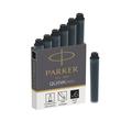 Tintenpatrone QUINK mini schwarz Parker 1950407 (PACK=6 STÜCK) Produktbild Additional View 1 S