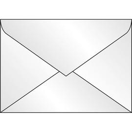 Briefumschläge C5 90g transparent gummiert Sigel DU230 (PACK=25 STÜCK) Produktbild